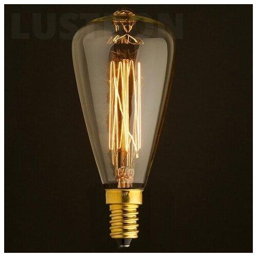 Ретро лампочка накаливания Эдисона свеча E14 40W 2400-2800K 4840-F (Loft It)