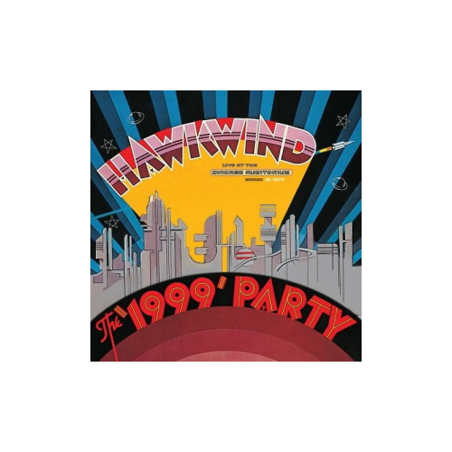 hawkwind hawkwind the business trip live Виниловые пластинки, Parlophone, HAWKWIND - The 1999 Party - Live At The Chicago Auditorium 21St March, 1974 (2LP)