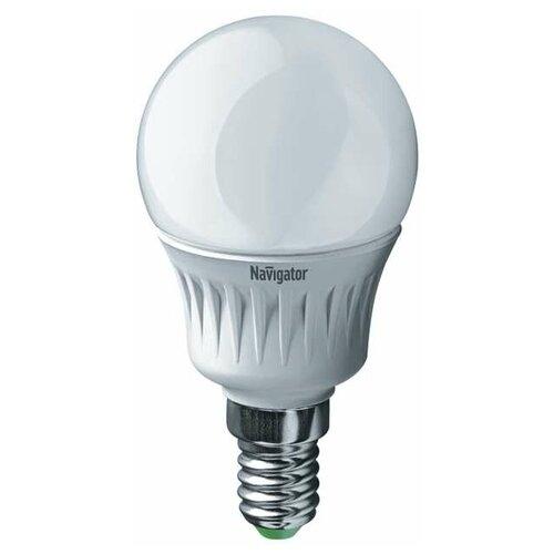 Лампа светодиодная 94 468 NLL-G45-7-230-4K-E14 7Вт шар 4000К бел. E14 560лм 176-264В Navigator 94468 (упаковка 10 шт)