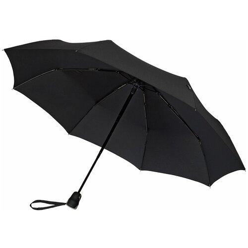 Зонт складной Bugatti Gran Turismo, чёрный