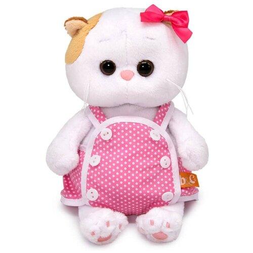 Мягкая игрушка Budi Basa Basik & Co Кошка Ли-Ли BABY в розовом песочнике 20 см