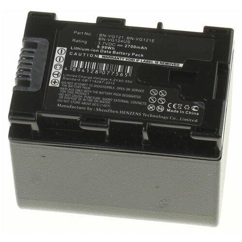 Аккумуляторная батарея iBatt 2700mAh для Jvc, JVC, Jvc, JVC, Jvc BN-VG107E, BN-VG107, BN-VG121E, BN-VG121U
