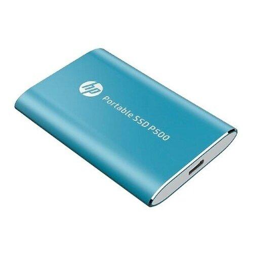 Внешний SSD HP 250 GB P500, голубой, USB 3.1/USB-C