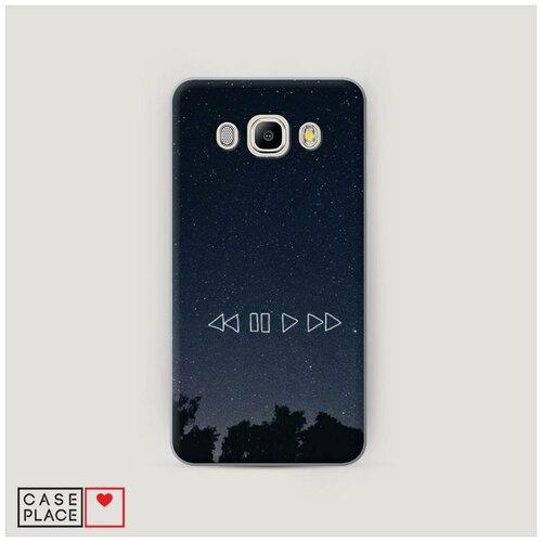 Чехол Пластиковый Samsung Galaxy J5 2016 Космическая музыка