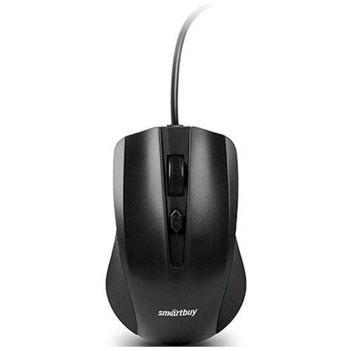 Фото - Мышь компьютерная Smartbuy ONE 352 черная (SBM-352-K) 2 шт. компьютерная мышь smartbuy sbm 597d k черный