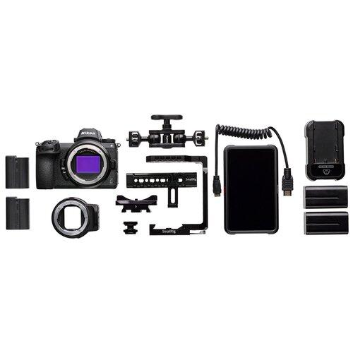 Фото - Фотоаппарат Nikon Z6 Essential Movie Kit черный фотоаппарат nikon z6 essential movie kit черный