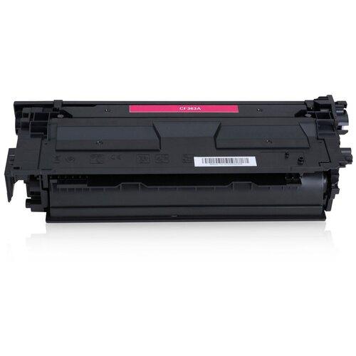Фото - Картридж CF363A/040 (№508A) для НР CLJ M552 / M553 / M577, Canon LBP 710 / LBP 712, Magenta (пурпурный), для лазерного принтера, совместимый тонер картридж canon 040hm 0457c001 пурпурный 10000стр для canon lbp 710 712