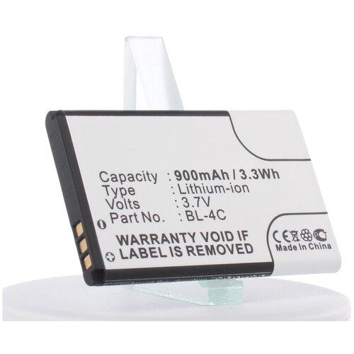Аккумуляторная батарея iBatt 900mAh для Nokia 6136S