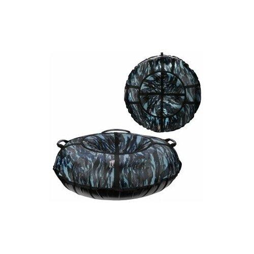 Санки надувные X-Match ткань принт Камуфляж, D-110 см. 581820