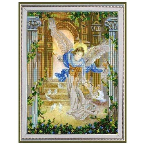 Купить Рисунок на ткани «Конёк» 9794 Ангел и голуби, 29x39 см, Наборы для вышивания