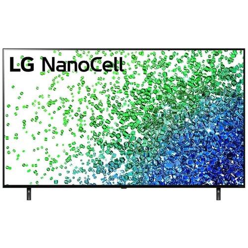 Телевизор NanoCell LG 50NANO806PA 49.5 (2021), черный
