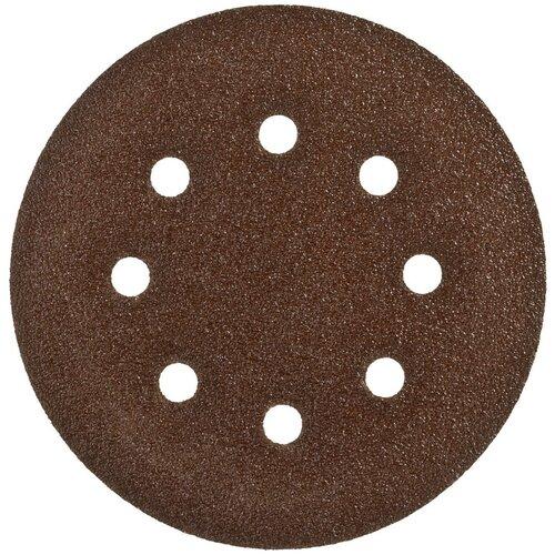 Фото - Шлифовальный круг на липучке ЗУБР 35350-125-040 125 мм 5 шт шлифовальный круг на липучке fit 39666 125 мм 5 шт