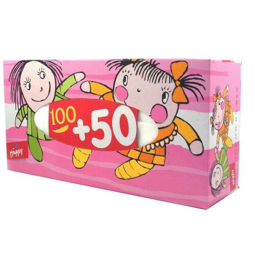 Платочки Bella Baby happy Ляльки универсальные двухслойные, 150 шт.