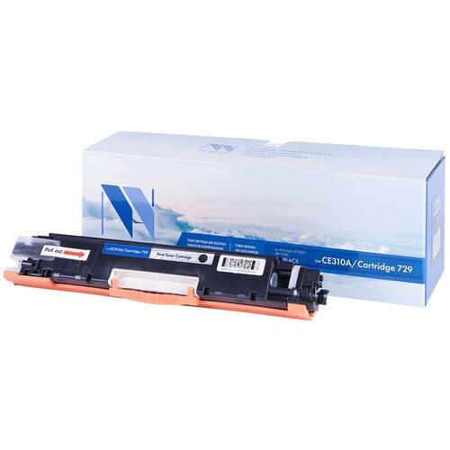Картридж NV Print CE310A/CF350A/729 Black для HP и Canon, совместимый картридж nv print cf411a для hp совместимый