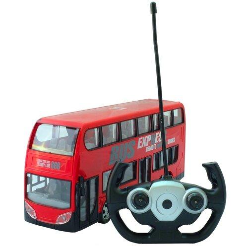 Фото - Автобус HK Industries 666-691A 30 см красный hk industries 666 191a пожарная машина с водой р у