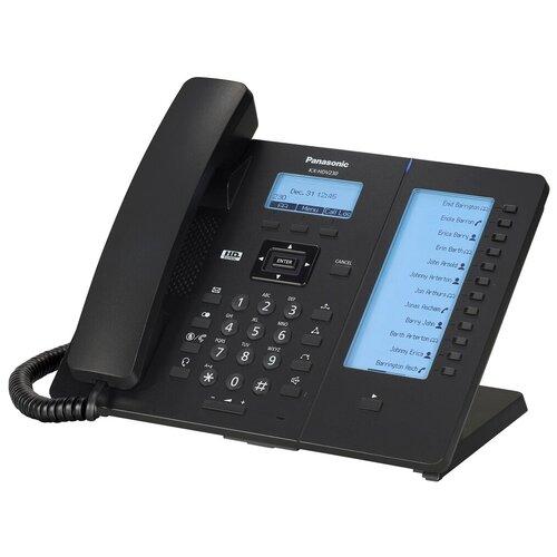 Фото - VoIP-телефон Panasonic KX-HDV230 черный voip телефон panasonic kx udt111ru черный