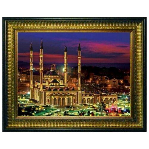 Купить Рисунок на ткани «Конёк» 9665 Мечеть Сердце Чечни, 29x39 см, Наборы для вышивания