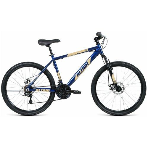 """Горный (MTB) велосипед ALTAIR AL 26 D (2020) синий 17"""" (требует финальной сборки)"""