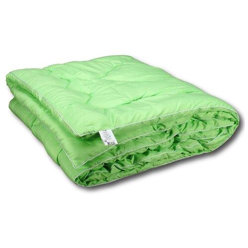 Фото - Одеяло АльВиТек Бамбук Микрофибра, всесезонное, 172 х 205 см (зеленый) одеяло альвитек модерато эко всесезонное 172 х 205 см сливочный