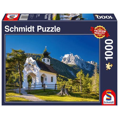 Пазл Schmidt Часовня в Баварских Альпах (58318), 1000 дет.