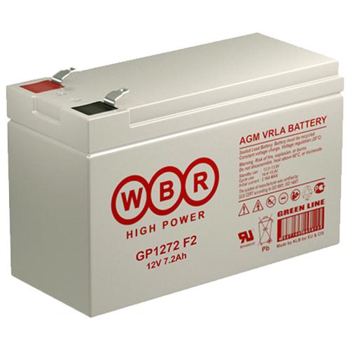 Аккумуляторная батарея WBR GP1272 F2 7.2 А·ч
