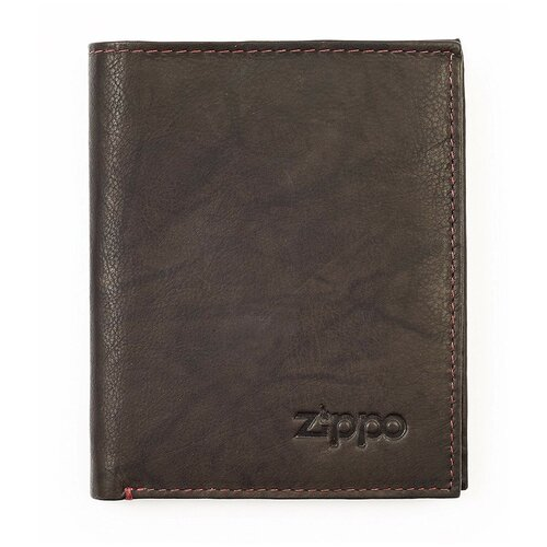 Фото - Портмоне Zippo 2005121, натуральная кожа мокко портмоне zippo серо чёрный камуфляж натуральная кожа 11 2x2x8 2 см