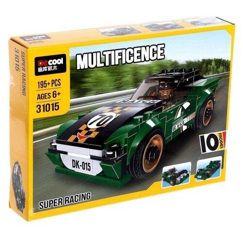 Купить Конструктор Jisi bricks (Decool) Multificence 31015 Супер гонки 10в1, Конструкторы