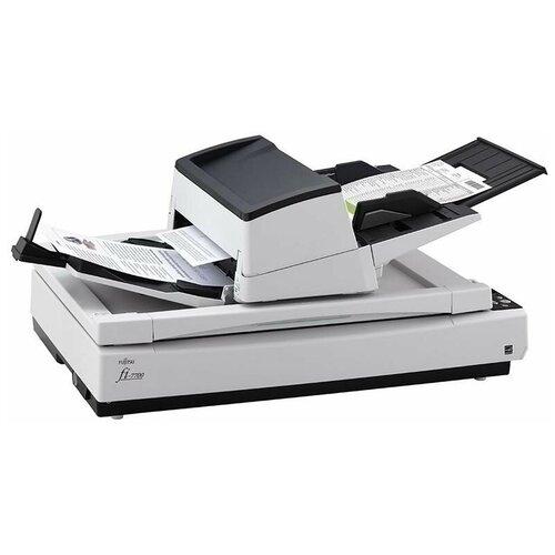 Сканер Fujitsu FI-7700S серый/белый