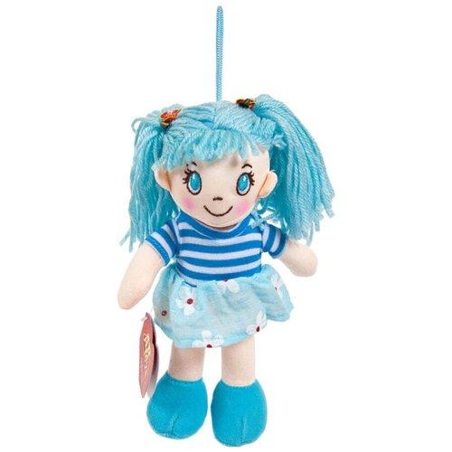 Фото - Мягкая игрушка ABtoys Кукла в голубом платье 20 см мягкая игрушка abtoys кукла рыжая в голубом платье 20 см
