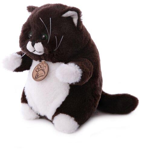 Мягкая игрушка Толстый кот 20см горький шоколад