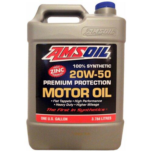Фото - Синтетическое моторное масло AMSOIL Synthetic Premium Protection Motor Oil 20W-50, 3.784 л синтетическое моторное масло amsoil synthetic 2 stroke injector oil 3 78 л