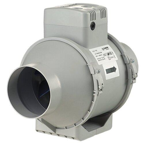 Канальный вентилятор Blauberg Turbo 100 серый канальный вентилятор blauberg turbo 200 серый