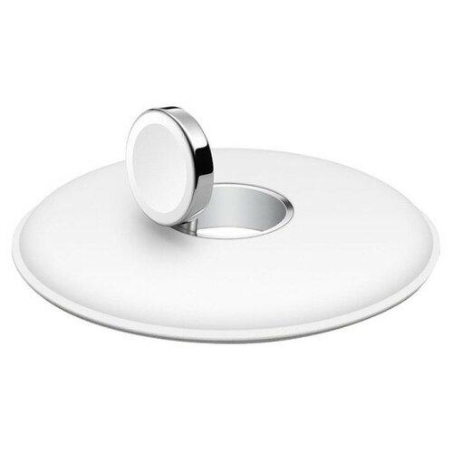 Беспроводная зарядка Apple с магнитным креплением для Apple Watch белый