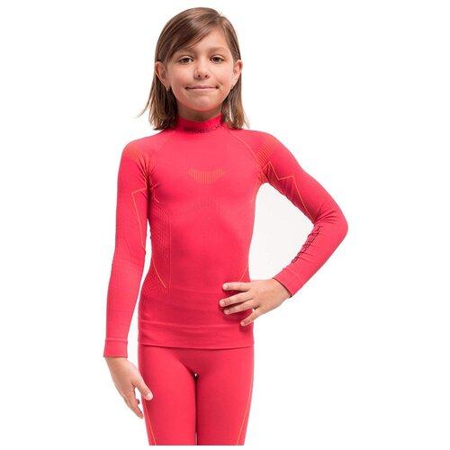 Термобелье для девочек Brubeck футболка с длинным рукавом THERMO малина 128-134