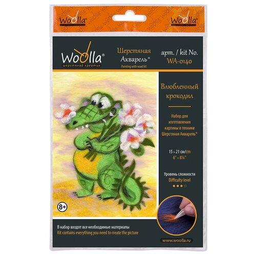 Купить Woolla WA-0140 набор Влюбленный крокодил ., Валяние