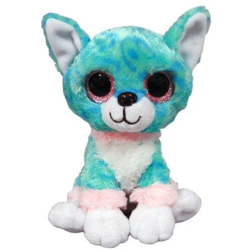 Мягкая игрушка Yangzhou Kingstone Toys Собачка голубая 15 см