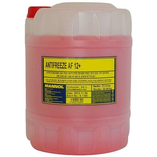 Антифриз Mannol Longlife Antifreeze AF12+ -40°C 20 л