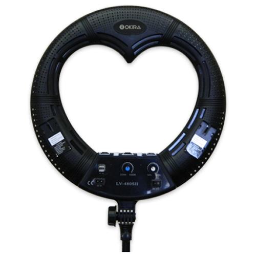 Кольцевая лампа OKIRA LED RING LV 480 S — Чёрный