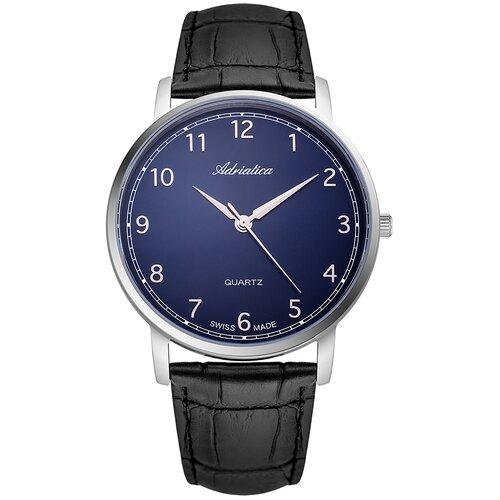 Фото - Часы наручные швейцарские мужские Adriatica A1287.5225Q мужские часы adriatica a1246 5217q