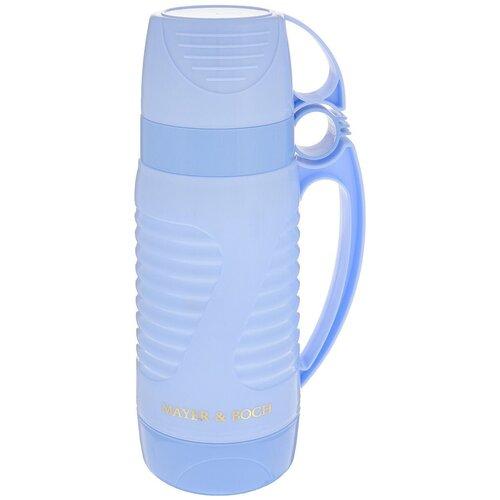 термос axentia airpot 1 9 л 263255 Классический термос MAYER & BOCH 24908/9/10/11, 1 л синий