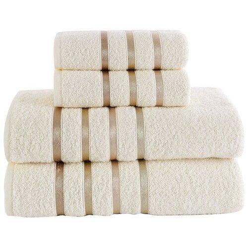 KARNA Набор полотенец Bale кремовый недорого