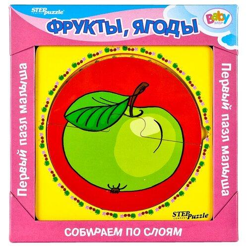 Рамка-вкладыш Step puzzle Baby Step Фрукты, ягоды (89023)