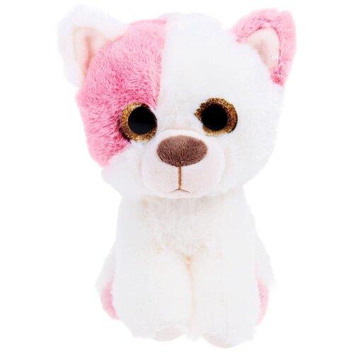 Мягкая игрушка Левеня Кошечка Маля 17 см