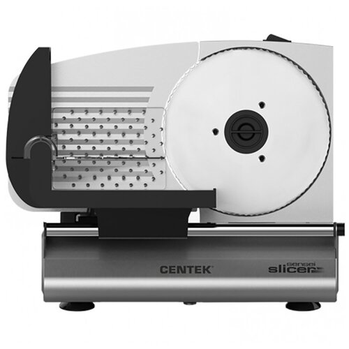 Ломтерезка CENTEK CT-1380 150 Ватт серебристый/черный