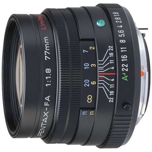 Объектив Pentax SMC FA 77mm f/1.8 Limited черный