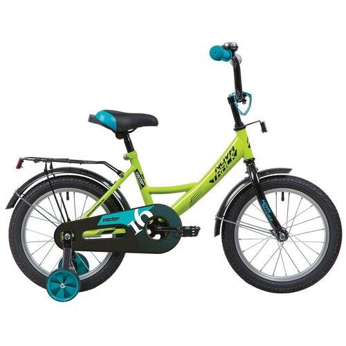 Фото - Детский велосипед Novatrack Vector 16 (2020) зеленый (требует финальной сборки) детский велосипед novatrack twist 20 2020 зеленый требует финальной сборки