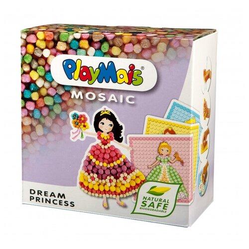 Купить PlayMais Сказочная мозаика Принцесса (160178), Поделки и аппликации