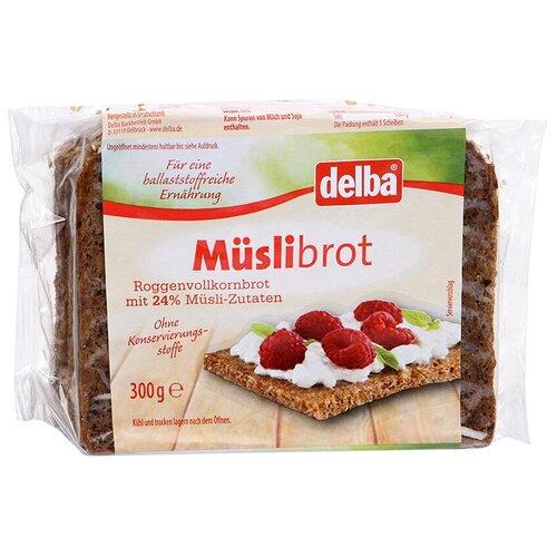 Delba Хлеб Muslibrot с мюсли цельнозерновой, 300 г