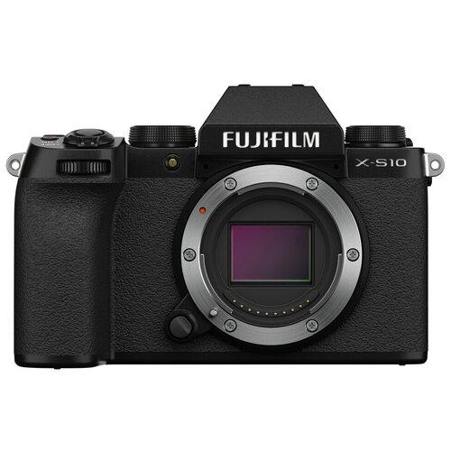 Фото - Фотоаппарат Fujifilm X-S10 Body черный цифровой фотоаппарат fujifilm x pro3 body dr silver