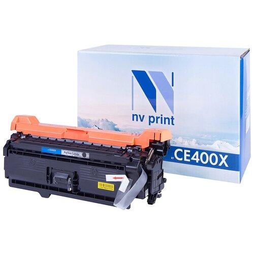 Фото - Картридж NV Print CE400X для HP, совместимый картридж nv print cf403a для hp совместимый